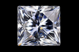 MOI01019EF - Moissanite 5.50mm Square Princess, 0.88ct