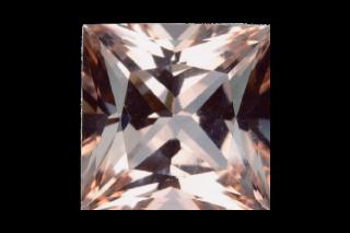 MOR01030M_329 - Morganite 10x10 Square, 3.29 carats