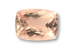 MOR01822M158 - Morganite 8x6 Cushion 1.58 carats