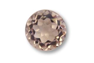 MOR121M - Morganite 6.00mm Round, 0.85 carats