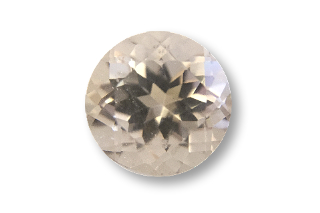 MOR124S - Morganite 7mm Round, 1.40cts