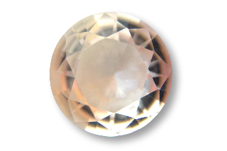 MOR132M - Morganite 11mm Round, 4.0 carats