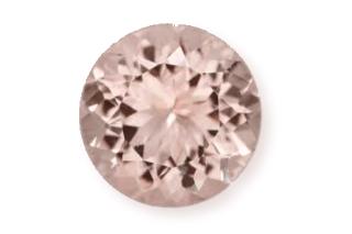 MOR132M - Morganite 11mm Round, 4.0 carats