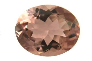 MOR231M2_1 - Morganite 12x10 Oval, 4.27 carats