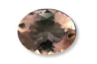 MOR231M2_2 - Morganite 12x10 Oval, 3.73 carats ON APPRO