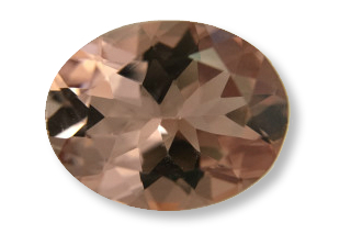 MOR231M2_3 - Morganite 12x10 Oval, 3.72 carats