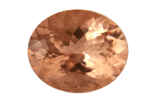 MOR231M_PEACH2 - Morganite 12x10 Oval, 4.43ct