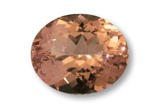 MOR235WF - Morganite 14x12 Oval, 7.28 carats