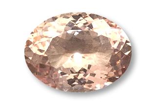 MOR238M2_774 - Morganite 16x12 Oval, 7.74 carats