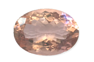 MOR240WM_1099 - Morganite 18x13 Oval, 10.99 carats