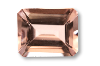 MOR427M_441 - Morganite 10x8 Octagon, 3.70 cts