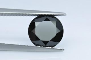 ONX130M - Onyx 10.00mm Round, 4.12 carats