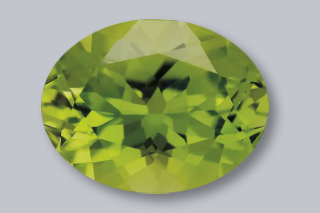 PER224M - Peridot 9x7 Oval, 2.15 carats