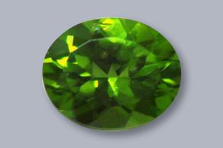 PER227M2 - Peridot 10x8 Oval, 2.82 carats