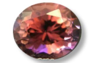PTO222MINUSM_139 - Pink Tourmaline 8x6 Oval, 1.39 carats