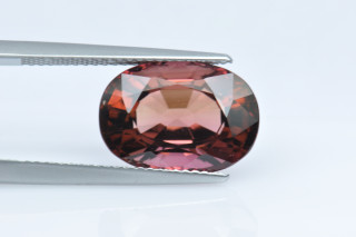 PTO234M_2 - Pink Tourmaline 14x10 Oval,  7.22 carats ON APPRO