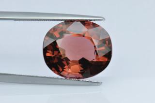 PTO235M - Pink Tourmaline 14x12 Oval,  9.73 carats