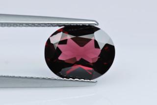RHO227F_4 - Rhodolite 10x8 Oval, 2.63 carats
