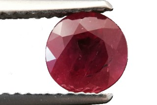 RUB121M3_2 - Ruby 6.00 Round, 0.98 carats