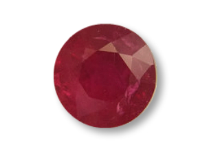 RUB122M_1 - Ruby 6.25 Round, 1.14 carats