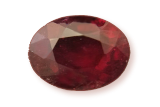 RUB219M10_131 - Ruby 7x5mm Oval  1.31 carats