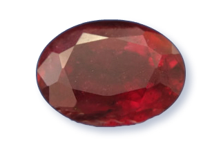 RUB222M12_179 - Ruby 8x6 Oval  1.79 carats