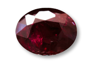 RUB224F2_249 - Ruby 9x7mm Oval  2.49 carats