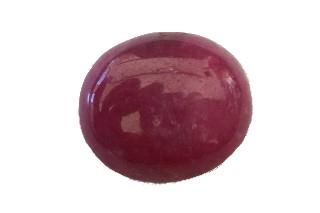 RUB288PLUSM - Ruby 16X14 Oval Cabochon, 16.81 carats