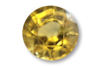 SAPY121M2_2 - Sapphire Yellow  6.00 Round, 1.07 carats