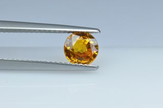 SAPY121M_1 - Sapphire Yellow  6.00 Round, 1.12 carats
