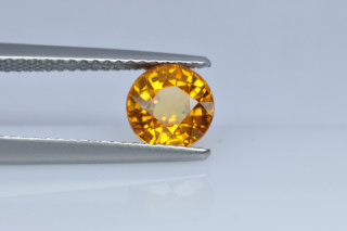 SAPY123M_2 - Sapphire Yellow  6.50 Round, 1.67 carats