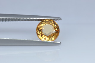 SAPY123M_3 - Sapphire Yellow  6.50 Round, 1.68 carats