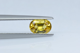 SAPY219M_2 - Sapphire Yellow  7x5 Oval, 1.06 carats