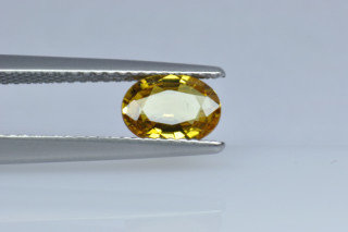 SAPY219M_9 - Sapphire Yellow  7x5 Oval, 0.92 carats