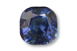 SAP01824BF3_233 - Sapphire 7x7 Cushion, 2.33 carats