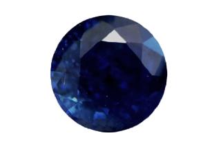 SAP121F_121 - Sapphire 6.00 Round, 1.21 carats
