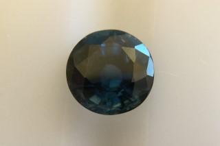 SAP121F4_1 - Sapphire 6.00 Round, 1.16 carats