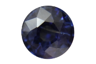 SAP121F_112 - Sapphire 6.00 Round, 1.12 carats