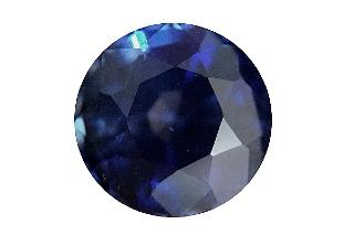 SAP121F_115 - Sapphire 6.00 Round, 1.15 carats