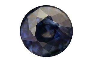 SAP121F_122 - Sapphire 6.00 Round, 1.22 carats