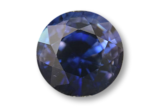 SAP123PLUSM_199 - Sapphire 6.60 Round, 1.99 carats ON APPRO