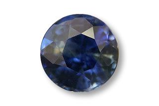 SAP124F2_209 - Sapphire 7.00 Round, 2.09 carats