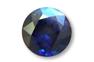 SAP124F5_203 - Sapphire 7.00 Round, 2.03 carats