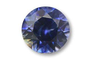 SAP125F2_221 - Sapphire 7.40 Round, 2.21 carats