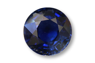 SAP126F5_238 - Sapphire 8.00 Round, 2.38 carats
