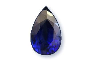 SAP523WF5_226 - Sapphire 9x6 Pear, 2.26 carats