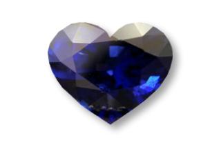 SAP926WF5_195 - Sapphire 8x7 Heart, 1.957 carats