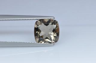 SMQ01826M - Smokey Quartz 8x8 Cushion, 2.07 carats