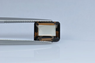 SMQ427M_1 - Smokey Quartz 10x8 Octagon, 3.23 carats