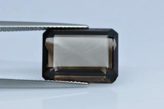 SMQ438M_1 - Smokey Quartz 16x12 Octagon, 10.74 carats